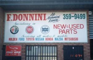 Alfa Romeo Abarth Fiat Lancia Service Repairs Campbellfield 1994